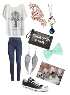 """once upon a time"" by burning-through-the-night ❤ liked on Polyvore"
