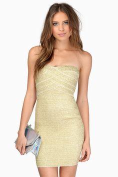 Flawless Bandaged Dress