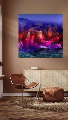 Flat Screen, Illustration, Digital Art, Photo Wallpaper, Island, Blood Plasma, Flatscreen, Illustrations, Dish Display