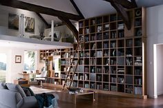 Luxe Library - Living Room Furniture & Designs - Decorating Ideas (houseandgarden.co.uk)
