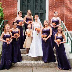Purple Bridesmaid Dresses @Marissa Hereso Branam