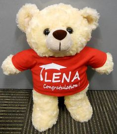 Perfect Personalised Gund Teddy Bear Slouchers | Graduation Teddy Bears~Personalised  | Pinterest | Teddy Bear, Graduation Teddy Bear And Personalised Teddy Bears