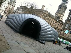 World's First Inflatable Cinema by matason, via Flickr