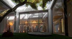 Gorgeous, stunning, mesmerizing moroccan style courtyard interior design