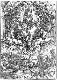 John's Revelation by Durer