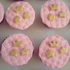 Cupcake princesa, realeza #cupcakes #princess #realeza #coroas