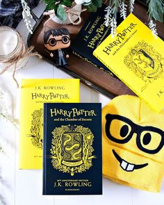 Happy Tuesday Bookworms!! - Qotd: Its #WorldEmojiDay! Whats your most favorite/most used emoji?? - Do you have a favorite emoji? Or an emoji that you use more than all others? I definitely use the nerd emoji the most.  Its my favorite! And the colors tie in with my new Hufflepuff editions of Harry Potter and the Chamber of Secrets.  What about you? What emoji do you love/use the most? - Its Tuesday! (Is it seriously only Tuesday?!) Is your week off to a good start?? I hope so! Are there any…