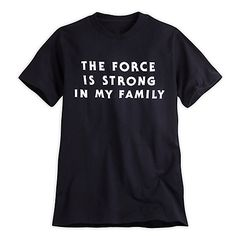 Star Wars Text Tee for Adults