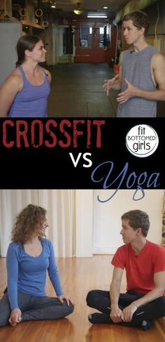 The hilarious choice between CrossFit and yoga.