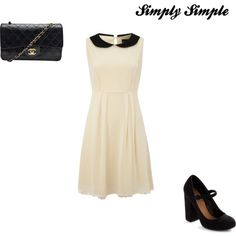 Simply Simple, created by tashaunlewis on Polyvore