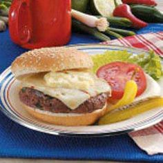 Ground Venison Burgers -   These are amazing!!!!  The sauce is really good and I have used it on sandwiches