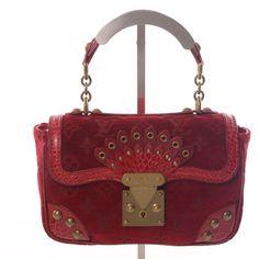 Authentic Louis Vuitton Handbags | Authentic-Louis-Vuitton-Limited-Edition-Red-Velour-Alligator-Irvine ...