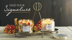 PartyLite Signature Fragrances