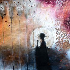 Original Fantasy Painting by Cismasiu Andreia Original Art, Original Paintings, Dream Painting, Fantasy Paintings, Mixed Media Canvas, Buy Art, Saatchi Art, Canvas Art, Fantasy Illustration