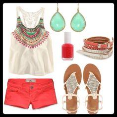 Super cute summer outfits idea..