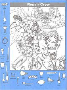 Hidden Pictures Classics: In Space (025730) Details - Rainbow Resource Center, Inc.