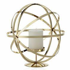Z Gallerie - Atlas Pillar Holder - Gold