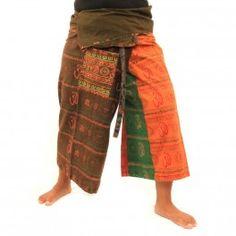 3/5 Bhaep Tíbet indio estilo Pantalón pareo