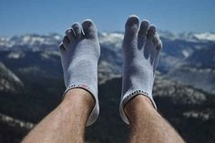 Or get toe-sock liners to prevent blisters.