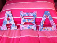 Alpha Xi Delta LOVES its new Lilly print! TSM.