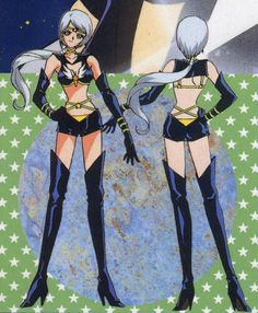 Sailor Star Healer(front and back)
