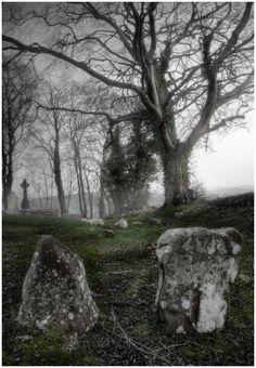 Killevy Church Graveyard, Ring of Gullion, Northern Ireland
