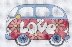 Camper Van - Cross Stitch Kit from Anchor