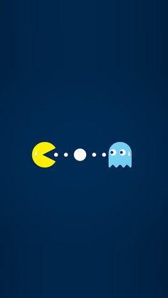 Pacman iPhone 5 Wallpaper