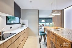Best Minimalist Kitchen Design To Avoid Boredom in Your Home Kitchen And Bath, New Kitchen, Kitchen Dining, Interior Design Kitchen, Modern Interior, Elegant Kitchens, Minimalist Kitchen, Küchen Design, Home Kitchens
