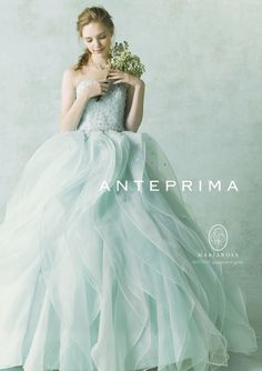 おしゃれ花嫁さんも大注目!大人かわいい *ANTEPRIMA* (アンテプリマ) のカラードレスに一目惚れ♡ | ZQN♡