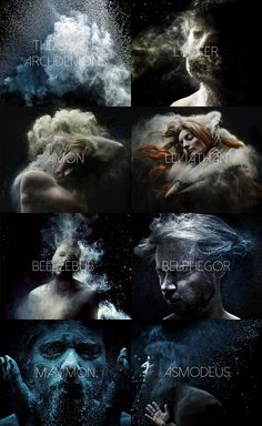 """ibuzoo: """" The Seven Archdemons - The Seven Archangels """""""