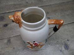 Vintage 1930s PPC Portland Potteries England Fox Hunting Jug in Pottery, Porcelain & Glass, Pottery, Other Pottery | eBay!