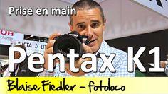"""Le Pentax K1 était le scoop du Salon de la Photo 2015: enfin un plein format chez Pentax! Et j'ai pu enfin le tester à Photokina et j'ai trouvé l'appareil super facile à utiliser! Bourré de molettes et de boutons on peut changer à toute vitesse ses réglages. Suivez moi pour ce """"test"""" du Pentax K1!"""