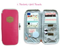 MochiThings.com: C Pocket Card Pouch