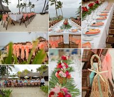 Royalton wedding dinner table decor \ set up by the beach. Royalton Punta Cana, Beach Wedding Centerpieces, Punta Cana Wedding, Wedding Dinner, Real Weddings, Destination Weddings, Dinner Table, Wedding Details, Wedding Inspiration