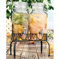 Home Essentials Del Sol 3L Twin Drink Dispenser w/ Stand Home Essentials & Beyond http://www.amazon.com/dp/B001HI1XC8/ref=cm_sw_r_pi_dp_J5NUub11DQCNB