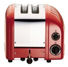 DUALIT Classic 2-Slice Toaster Red $199.95 LOWEST PRICE ANYWHERE-GUARANTEED...PICK UP OR WE WILL SHIP FREE WORLDWIDE... 100% MONEY BACK SATISFACTION GUARANTEE www.shopculinart.com