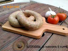 pa mojar pan!: Butifarras caseras de manzana y curry