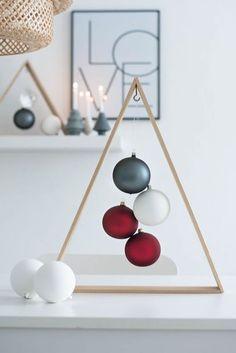 Te apuntas a una nuevas ideas Navidad simples y siempre encantadoras? Pues aquí te damos una genial idea de un Árbol de Navidad original y minimalista.