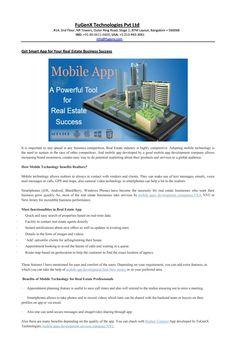 Mobile apps development companies USA