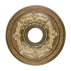 Livex Lighting Prefinished 18 Inch Ceiling Medallion | Van Dyke's Restorers®