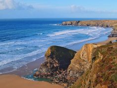 Google Image Result for Bedruthan Steps Hotel & Spa in Mawgan Porth, Newquay, Cornwall