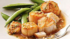 gout-diet-sesame-scallops