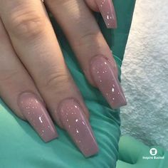 French Fade With Nude And White Ombre Acrylic Nails Coffin Nails Gliter Nails, Polygel Nails, Summer Acrylic Nails, Glam Nails, Cute Acrylic Nails, Nude Nails, Acrylic Nail Designs, Pink Nails, Coffin Nails