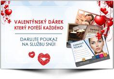 Daruj poukaz k Valentýnu - Institut Krásy