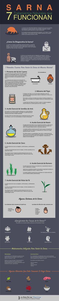 Sarna: 7 Tratamientos Naturales que Funcionan - La Guía de las Vitaminas