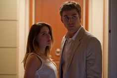 Amber Heard and Liam Hemsworth Movie Still from Paranoia