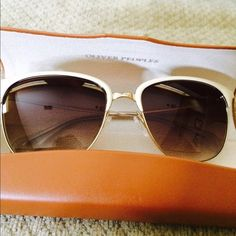 Oliver people sunglasses 100% authentic brand new Accessories Sunglasses