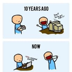 You've got mail: Then and Now