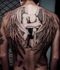 masculino anjo da noite.